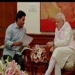 "One Chor meets the other - ""RT:@ANI_news :Delhi: Jagan Mohan Reddy meets PM Narendra Modi (Source: PMO) http://t.co/O8T7cmLD9e"