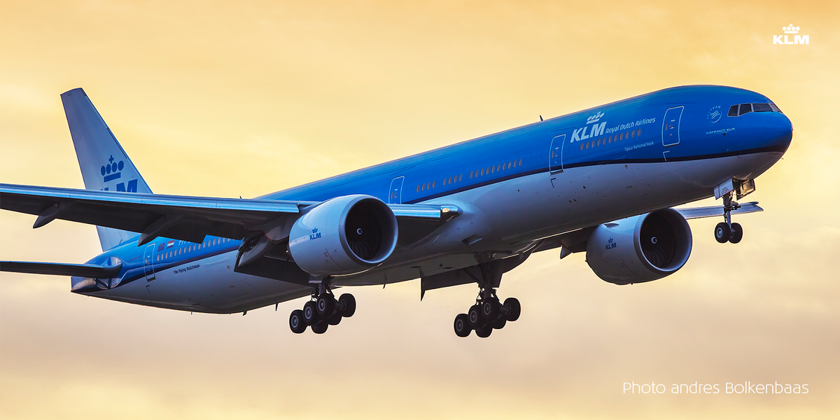 KLM welcomes newest Boeing 777-300 Tijuca National Park.  Read more --> <--