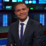 """.@Trevornoah is your new """"Daily Show"""" host http://t.co/PPPNLiEJKK http://t.co/JYbJupw11P"""