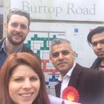 Good to be out talking to #Earlsfield residents today - lots of support for @UKLabour & Paul White #TogetherWeKhan http://t.co/7yQWMWvUGf