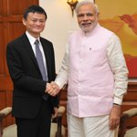 Had a very good meeting with Mr. Jack Ma. @alibabagroup http://t.co/QhMbrVTvWE