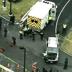 DEVELOPING: Investigation underway after 2 people were injured at an NSA gate at Ft. Meade http://t.co/ltKqHK6PEo http://t.co/BNgyIjl0SV