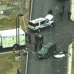 UPDATE: 2 injured after driver tries to ram gate at Fort Meade, officials say. http://t.co/Cy2WZPAQ4S http://t.co/mvBfmdhgXl