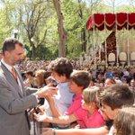 El Rey, en la Semana Santa de Sevilla http://t.co/hcsvXXSzFA