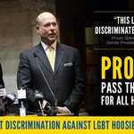 #RFRA isnt about discrimination? Prove it. Protect #LGBT Hoosiers from discrimination: http://t.co/7YGT5D41q5 http://t.co/oZDDQFlzHm