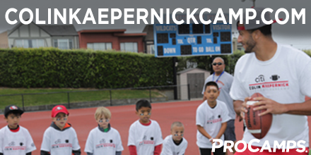 News Release: Colin Kaepernick announces 3rd annual @CitiPrivatePass youth football @ProCamps http://t.co/x05boircgb http://t.co/bzCeXT2nJp
