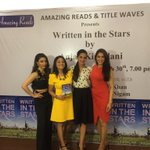 RT @rashminigam: Congratulations 2 @AnjaliKir for her book #WrittenintheStars ,enjoying da launch with @sakpataudi n @tarasharmasaluj