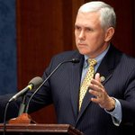 """Indiana Gov. Mike Pence: """"Hoosiers don't believe in discrimination"""" http://t.co/n3cB8cESaj http://t.co/8f86TDTA86"""