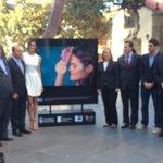 Inauguración exposición fotográfica #HeroesDelDeporte @AlcaldeCardona, Miguel Cardenal  y Antonio Vera @EFEnoticias http://t.co/l2Kqr5ssRq
