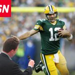When you try to interview Aaron Rodgers at the wrong time: http://t.co/XSulL0InfU