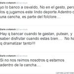 """El #exBoca @Daricvitaok bancó a Daniel Osvaldo en Twitter. """"Si no nos reímos nosotros que estamos adentro..."""" tuiteó. http://t.co/eLkjzrlEWD"""