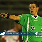 [SORTEO DE ÁRBITROS] Vélez-Arsenal, Germán Delfino. http://t.co/CGW4nPoSfP