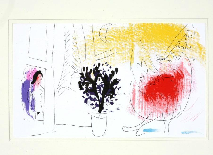 """Da mettere nei preferitissimi e non perderla: la mostra """"Segni e colori dell'anima"""" di #Chagall all'@MARTEmediateca. http://t.co/X27eghGSM8"""