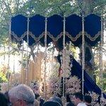 Reina de Triana y Campanilleros para la Virgen de la Estrella en Colon @pasoapasocsr @EntrevaralesCOR @Hdad_Estrella http://t.co/FXzyi85dTl