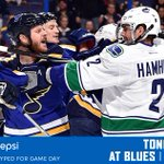 #gethyped, ITS GAMEDAY! #Canucks are playin the Blues on the road tonight. READ → http://t.co/Rf29faIrsZ http://t.co/LWm9CS8fqI