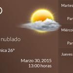 Buenas tardes, la temperatura en #Tampico #Tamaulipas #MEX es de 26°C. http://t.co/fcYm1A58Ad