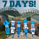 ONE WEEK! @Brewers opening day is almost here! http://t.co/Q1iPRvpCCR