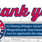 Thank you for following along today for #RangersRewards! Winners are being contacted now. http://t.co/7HX0Ucs7e6