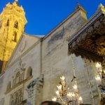 "La Virgen de la Santa Vera Cruz entra en la plaza de San Sebastián al son de ""Virgen de la Paz"" por @BM_veracruz http://t.co/uzC0u4t6of"
