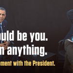 Free flight, free hotel, and a chance to meet the President? Enter today: http://t.co/qhUAuJhsg6