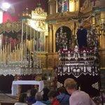 Todo listo. Dios te salve #Dolores por #Sevilla coronada, fuiste elegida por el #Cerro como mujer llena de gracia http://t.co/WMmYcOpKs1