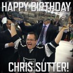Happy Birthday to the legend himself Chris Sutter! We need some of your good luck charm right now. 🎉🍰 http://t.co/fCmPOQdyXI