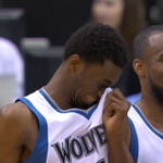 When you dunk on their hopes and dreams... (photo via @TwolvesArmyRu) http://t.co/61MIWgkexY