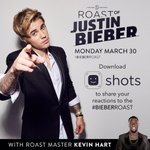 Excited for the roast premier tonight! It was awesome being there #BieberRoast @john @justinbieber @shots http://t.co/C5yF904Xet
