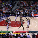 Oh my! Haha RT @CBSSportsNBA: WATCH: Kyle Korver scores 11 points in 65 seconds  http://t.co/fln3lAj7n7 http://t.co/Hcy5M3NdvB