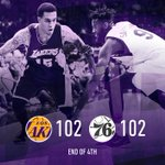 Who? RT @Lakers: Jabari Brown will look to add to his career-high 20 points as we head to overtime. http://t.co/3grFbKRBjr
