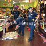 DOZENS of phials seized at #GoldCoast Happy High Herbs for testing. Police crackdown on sale of synthetic cannabis. http://t.co/DfR9jqScI5