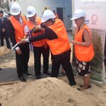 The turning of the first sod at the 3 tower Jewel development site in Surfers Paradise @9NewsGoldCoast http://t.co/HxKoTrdhQc