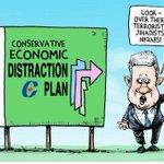 Re last tweet:  Greg Perry (Toronto Star) said it all  Economic Distraction Plan http://t.co/5Jxj9UDajs