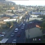 Congestión en G.Mackenna, altura San Martín #Temuco. http://t.co/mBh34Ow2Px