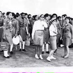 فتيات الكشافة الليبية 1963 أيام المملكة.. كيف كنا.. وكيف أصبحنا.. عقود من الرجعية والتخلف.. #ليبيا #Libya http://t.co/iSlcTMu7IG