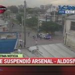 ÚLTIMA NOTICIA Se suspendió el partido entre Arsenal y Aldosivi por disturbios en la tribuna. http://t.co/xykSYIdLnV