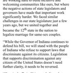 On Indiana Religious Freedom bill, @mayorcoleman and @MayorHodges release joint statement in opposition http://t.co/r4uDU0tRVS