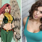 """@BrandonJRouth: Welcome to the team!!! @CiaraRenee8 joins Arrow/Flash spinoff as #Hawkgirl! http://t.co/hNF7ofkIEx http://t.co/5UZ59GsXm5"""