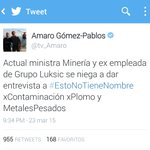 Ministra de Minería A. Williams no concede entrevista a @tvamaro ¿Qué oculta? #BacheletMiente #ChileBusca http://t.co/HgdRklmFUm