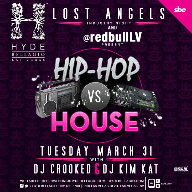 Tomorrow night @RedBullLV presents Hip-Hop vs House @HydeBellagio with your favorite Korean @SkamArtist + @djkimkat! http://t.co/ANxeYUAQB0