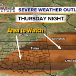 Severe weather risk returns for late Thursday. Ill show what the new guidance suggests on @KJRH2HD at 10pm. #okwx http://t.co/D29LFHEAbi