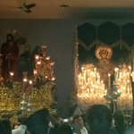 Ya se encuentran nuestros Titulares en su Templo. Gran estación de penitencia. http://t.co/wvEIhczdb5