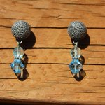 Blue earrings for women blue earring aqua blue by JabberDuck http://t.co/AVyjfnCGU3 http://t.co/1jHCBqgZcZ