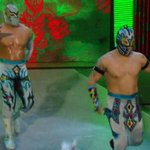 The #LUCHADragons make their #RAW Debut, teaming with #TheNewDay vs. #TheAscension and Kidd/Cesaro! http://t.co/1N8oMX3RG0