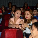 """""""@KathDevotees: And she even took their selfies! ????❤️???? #lateupload (check our FB page for more photos) http://t.co/BdVnVJu0S7"""""""