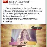 """""""@FCLuceroEn_TJ: Vamos !! Entren aquí y dejen un comentario bueno asía @LuceroMexico 👉👉 https://t.co/pM3HJzAWja http://t.co/wwmoRgTjlZ"""""""