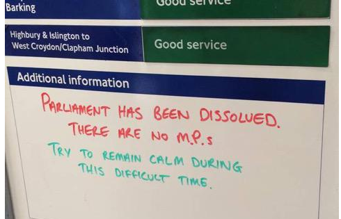 To those who hand out medals: please give one to the Tube worker who did this. http://t.co/8ta3BaP8XP