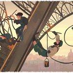 Google dedica un Doodle por los 126 años de la apertura al público de la torre Eiffel. http://t.co/0v4uDkCwfp