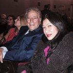 @kateberryberry of marthastewartweddings with the inimitable tony Bennett http://t.co/gUxHeAmJoB