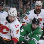2ND PERIOD: 4-2 #Flames! Shots are 21-20 #Stars. #CGYvsDAL http://t.co/xDTjo1JPkr
